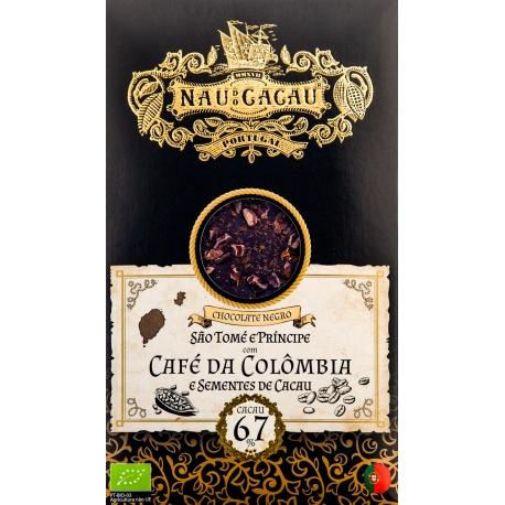 Nau do Cacau - Café da Colômbia (S. Tomé 67%)