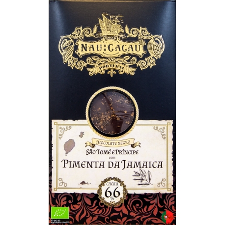 Nau do Cacau - Pimenta da Jamaica (São Tomé 66%)