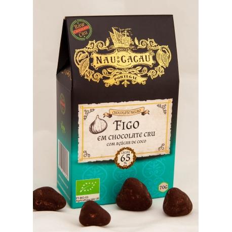 Nau do Cacau - Figo em Chocolate Cru